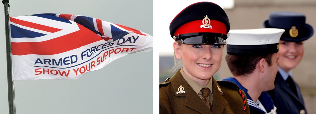 Armed Forces Day Flag & Cadets